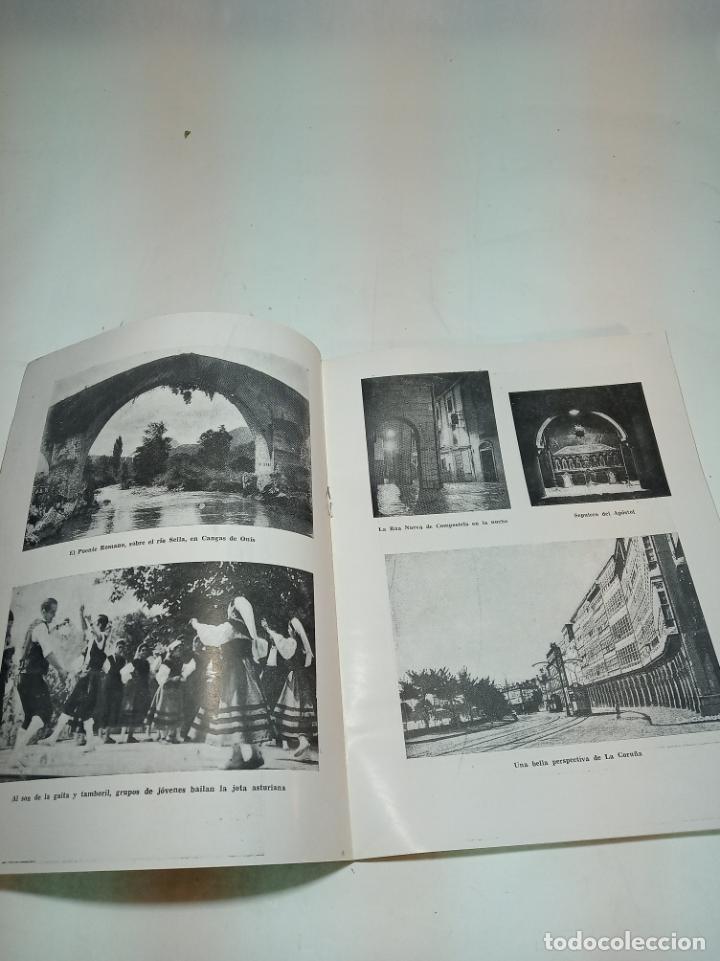 Coleccionismo de Revista Temas Españoles: Revista temas Españoles. Nº 59. Galicia y Asturias. Publicaciones Españolas. Madrid. 1953. - Foto 2 - 196927838