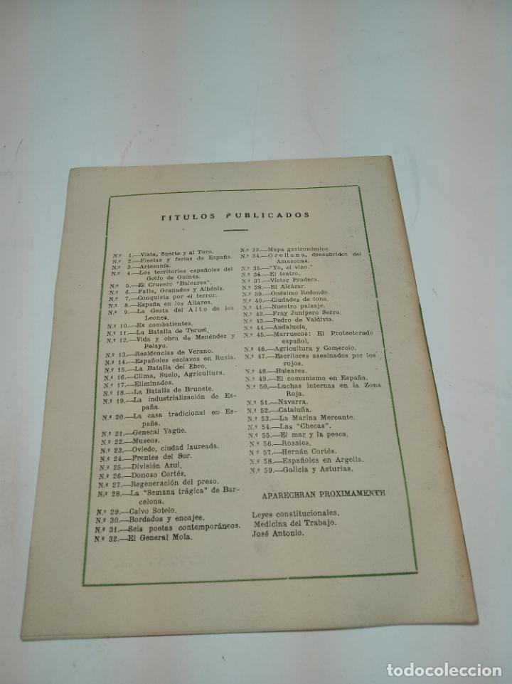 Coleccionismo de Revista Temas Españoles: Revista temas Españoles. Nº 59. Galicia y Asturias. Publicaciones Españolas. Madrid. 1953. - Foto 3 - 196927838