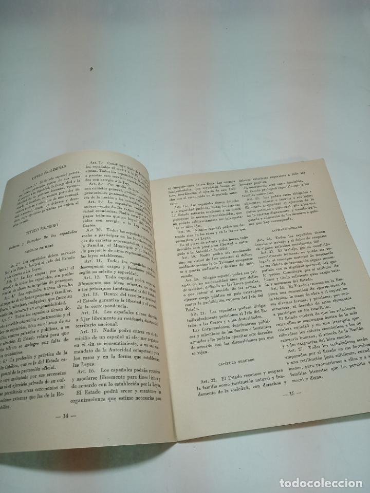 Coleccionismo de Revista Temas Españoles: Revista temas Españoles. Nº 60. Leyes fundamentales del reino.Publicaciones Españolas. Madrid. 1955. - Foto 2 - 196927981