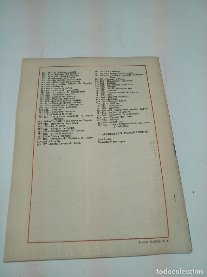 Coleccionismo de Revista Temas Españoles: Revista temas Españoles. Nº 60. Leyes fundamentales del reino.Publicaciones Españolas. Madrid. 1955. - Foto 3 - 196927981
