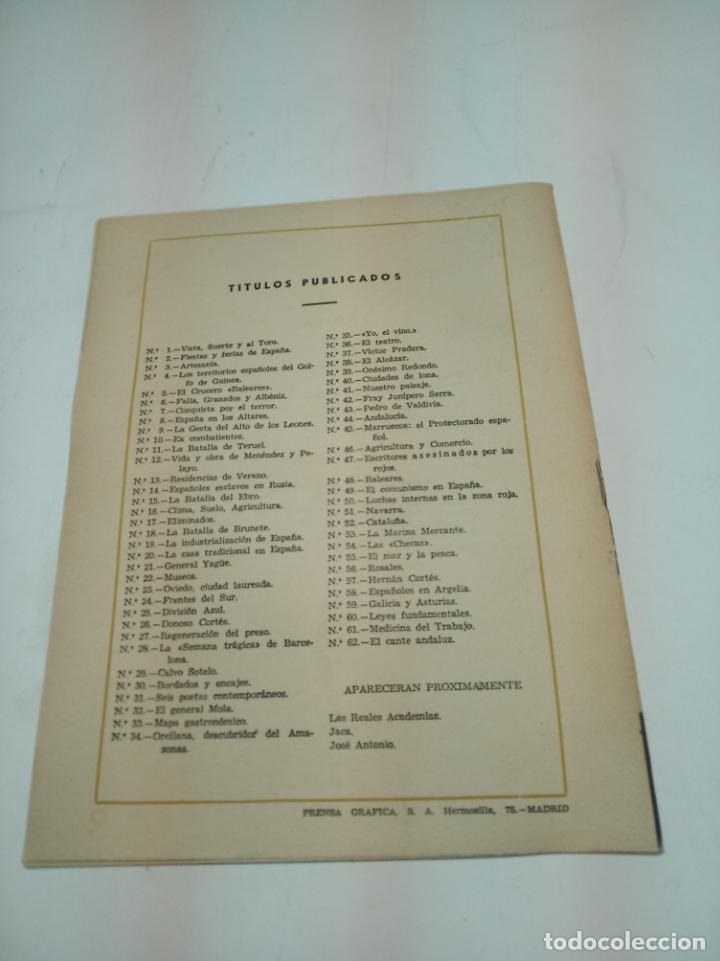 Coleccionismo de Revista Temas Españoles: Revista temas Españoles. Nº 62. El cante Andaluz. Publicaciones Españolas. Madrid. 1956. - Foto 3 - 196928211