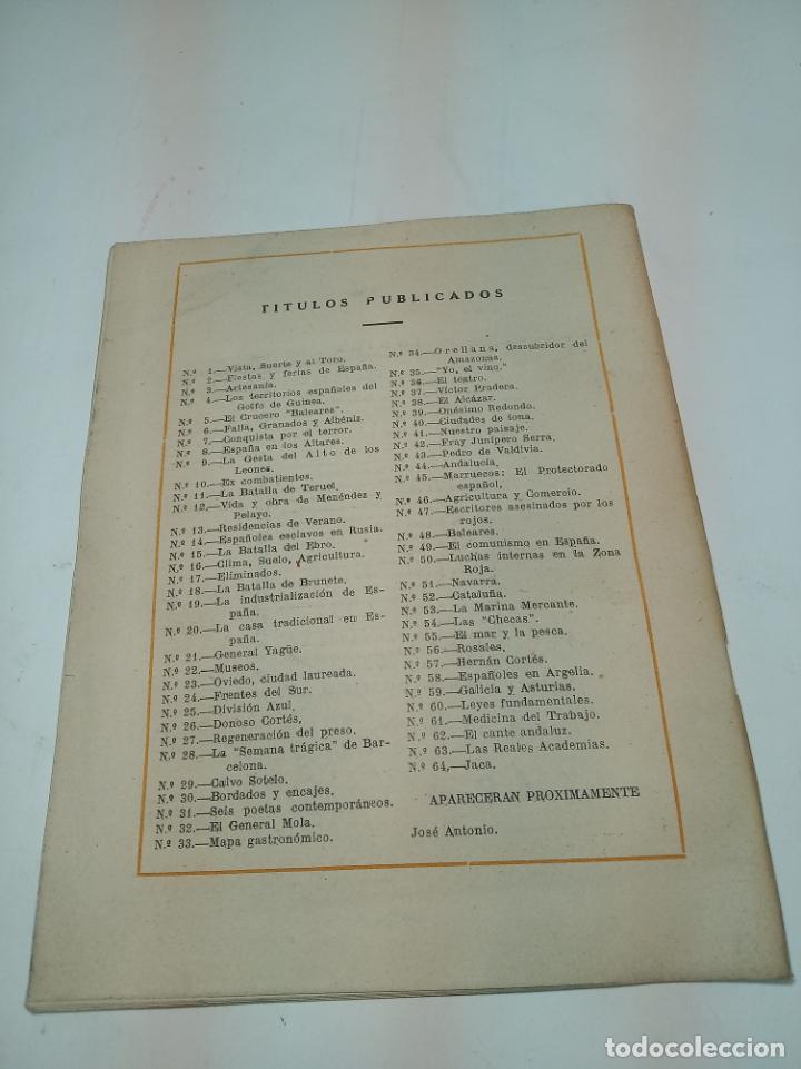 Coleccionismo de Revista Temas Españoles: Revista temas Españoles. Nº 64. Jaca. Publicaciones Españolas. Madrid. 1953. - Foto 3 - 196928596