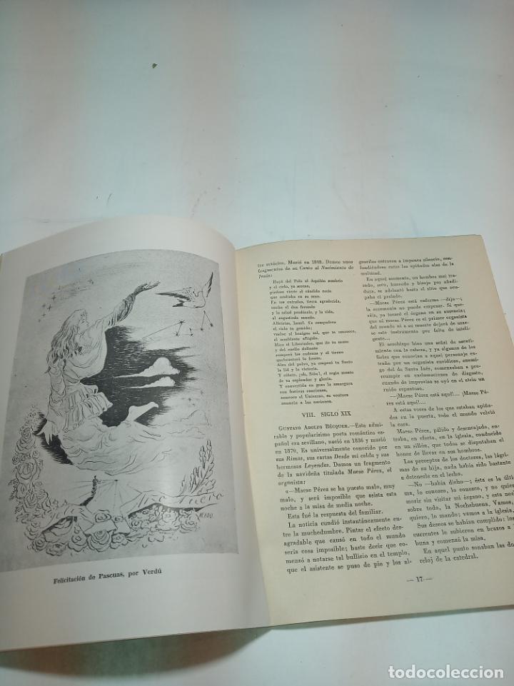 Coleccionismo de Revista Temas Españoles: Revista temas Españoles. Nº 66. La navidad en España. Publicaciones Españolas. Madrid. 1956. - Foto 2 - 196928821