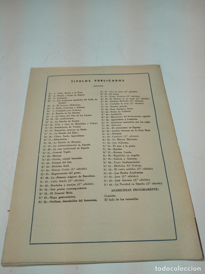 Coleccionismo de Revista Temas Españoles: Revista temas Españoles. Nº 66. La navidad en España. Publicaciones Españolas. Madrid. 1956. - Foto 3 - 196928821