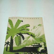 Colecionismo da Revista Temas Españoles: REVISTA TEMAS ESPAÑOLES. Nº 67. CANARIAS. PUBLICACIONES ESPAÑOLAS. MADRID. 1956.. Lote 196928900