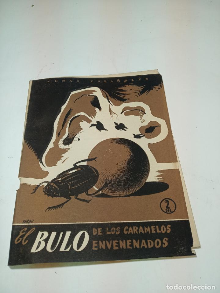 REVISTA TEMAS ESPAÑOLES. Nº 68. EL BULO DE LOS CARAMELOS ENVENENADOS. P. ESPAÑOLAS. MADRID. 1956. (Papel - Revistas y Periódicos Modernos (a partir de 1.940) - Revista Temas Españoles)