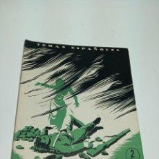 Coleccionismo de Revista Temas Españoles: REVISTA TEMAS ESPAÑOLES. Nº 89. DE CASTILBLANCO A CASA VIEJAS. PUBLICACIONES ESPAÑOLAS.MADRID.1954. Lote 197435843