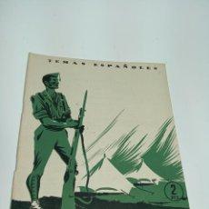 Coleccionismo de Revista Temas Españoles: REVISTA TEMAS ESPAÑOLES. Nº 92. LA LECCIÓN ESPAÑOLA. PUBLICACIONES ESPAÑOLAS.MADRID.1954. Lote 197436563