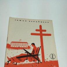Coleccionismo de Revista Temas Españoles: REVISTA TEMAS ESPAÑOLES. Nº 95. LUCHA ANTITUBERCULOSA EN ESPAÑA. PUBLICACIONES ESPAÑOLAS.MADRID.1954. Lote 197436991