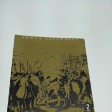 Coleccionismo de Revista Temas Españoles: REVISTA TEMAS ESPAÑOLES. Nº 96.EL EJÉRCITO ESPAÑOL. PUBLICACIONES ESPAÑOLAS.MADRID.1954. Lote 197437111