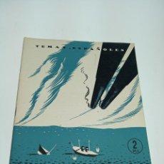 Coleccionismo de Revista Temas Españoles: REVISTA TEMAS ESPAÑOLES. Nº 98. 1898. CUBA Y FILIPINAS.. PUBLICACIONES ESPAÑOLAS.MADRID.1954. Lote 197437967