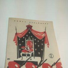 Collectionnisme de Magazine Temas Españoles: REVISTA TEMAS ESPAÑOLES. Nº 171. LA DINASTÍA CARLISTA. PUBLICACIONES ESPAÑOLAS. MADRID. 1955.. Lote 197571112
