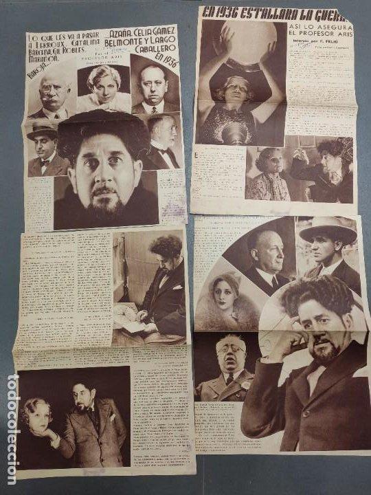ANTIGUOS RECORTES PERIODICO DE 1935, ARTICULO DE EL PROFESOR ARIS (Papel - Revistas y Periódicos Modernos (a partir de 1.940) - Revista Temas Españoles)