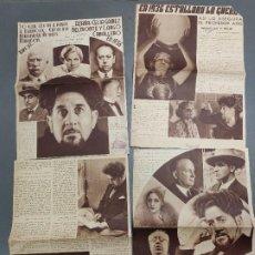 Coleccionismo de Revista Temas Españoles: ANTIGUOS RECORTES PERIODICO DE 1935, ARTICULO DE EL PROFESOR ARIS . Lote 198583606
