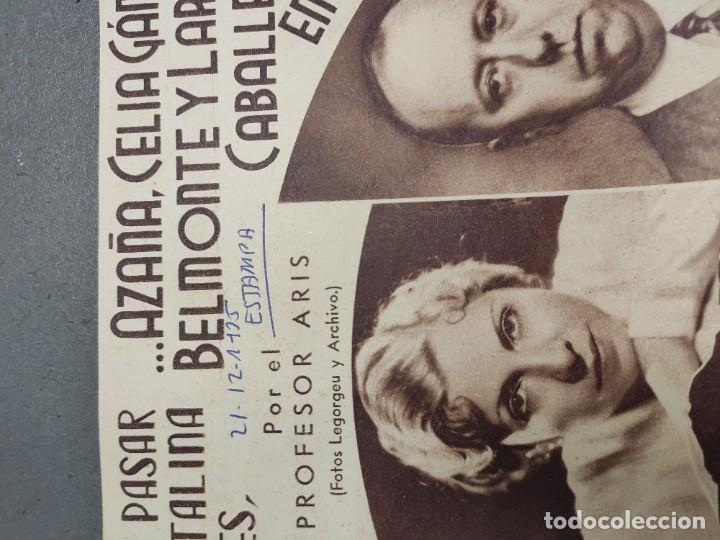 Coleccionismo de Revista Temas Españoles: ANTIGUOS RECORTES PERIODICO DE 1935, ARTICULO DE EL PROFESOR ARIS - Foto 3 - 198583606