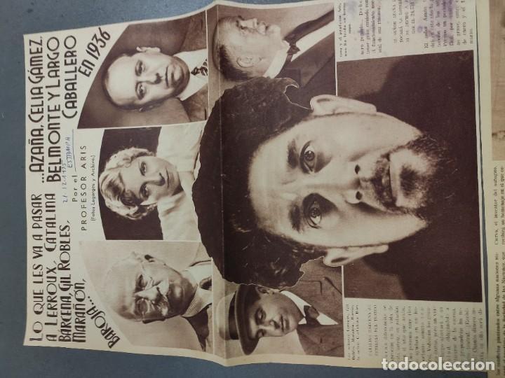 Coleccionismo de Revista Temas Españoles: ANTIGUOS RECORTES PERIODICO DE 1935, ARTICULO DE EL PROFESOR ARIS - Foto 4 - 198583606