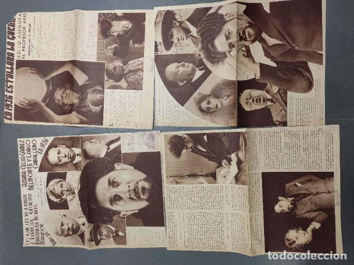 Coleccionismo de Revista Temas Españoles: ANTIGUOS RECORTES PERIODICO DE 1935, ARTICULO DE EL PROFESOR ARIS - Foto 5 - 198583606