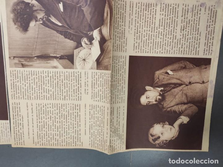 Coleccionismo de Revista Temas Españoles: ANTIGUOS RECORTES PERIODICO DE 1935, ARTICULO DE EL PROFESOR ARIS - Foto 7 - 198583606
