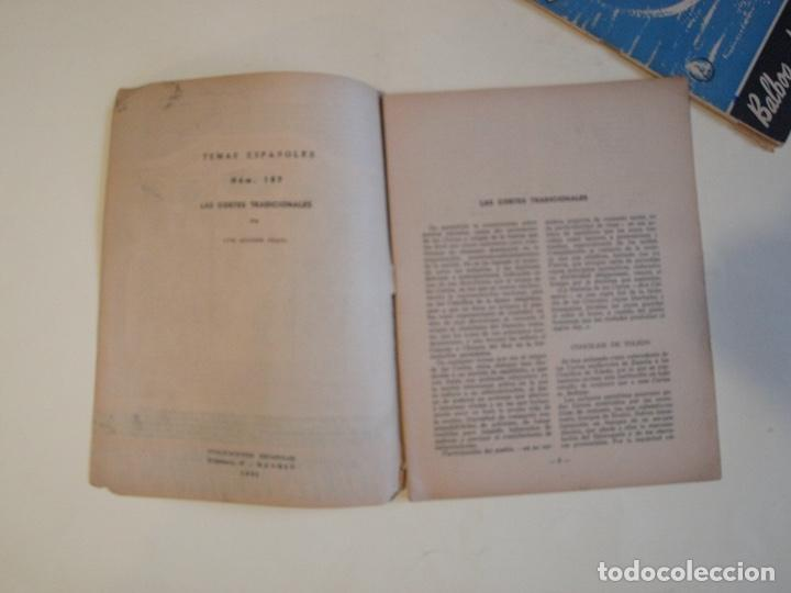 Coleccionismo de Revista Temas Españoles: 2 REVISTAS TEMAS ESPAÑOLES Nº 187 Y 267 - AÑO 1955 Y 1956 - Foto 2 - 200570237