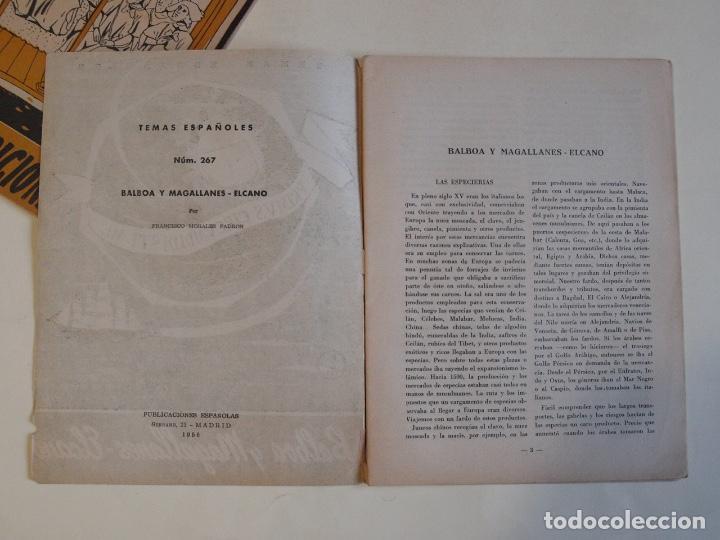 Coleccionismo de Revista Temas Españoles: 2 REVISTAS TEMAS ESPAÑOLES Nº 187 Y 267 - AÑO 1955 Y 1956 - Foto 7 - 200570237