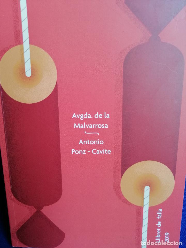 LLIBRET FALLA AVENIDA DE LA MALVARROSA- ANTONIO PONZ CAVITE 2019 (Papel - Revistas y Periódicos Modernos (a partir de 1.940) - Revista Temas Españoles)
