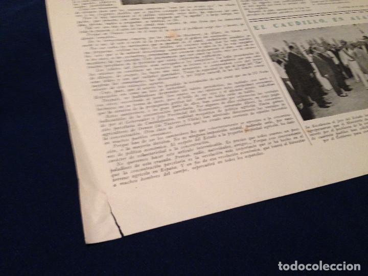Coleccionismo de Revista Temas Españoles: CONCENTRACION PARCELARIA,HOJA INFORMATIVA TIPO PERIODICO.AÑO1953.ORENSE,OLIVARES DE JUCAR.ZUÑIGA... - Foto 2 - 201519472