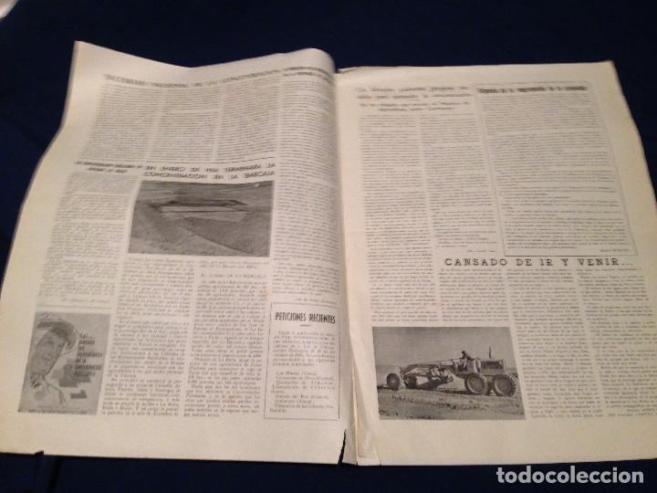 Coleccionismo de Revista Temas Españoles: CONCENTRACION PARCELARIA,HOJA INFORMATIVA TIPO PERIODICO.AÑO1953.ORENSE,OLIVARES DE JUCAR.ZUÑIGA... - Foto 4 - 201519472