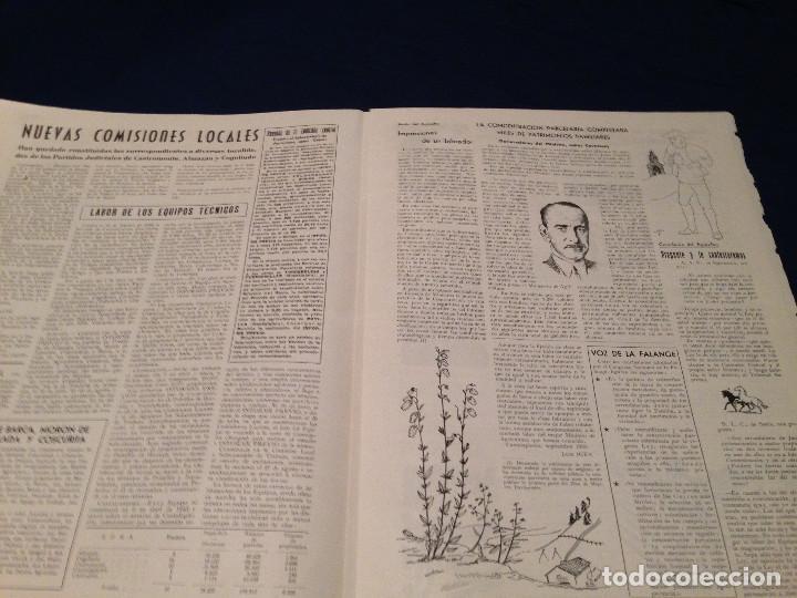 Coleccionismo de Revista Temas Españoles: CONCENTRACION PARCELARIA,HOJA INFORMATIVA TIPO PERIODICO.AÑO1954.VALLADOLID. - Foto 4 - 201520468