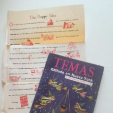 Coleccionismo de Revista Temas Españoles: TEMAS - Nº 53, VOL. 9 - REVISTA ESPAÑOLA ED EN NY 1955 //TREMENDA ILUSTRACION BRUJAS TIPO JIM FLORA. Lote 202421455