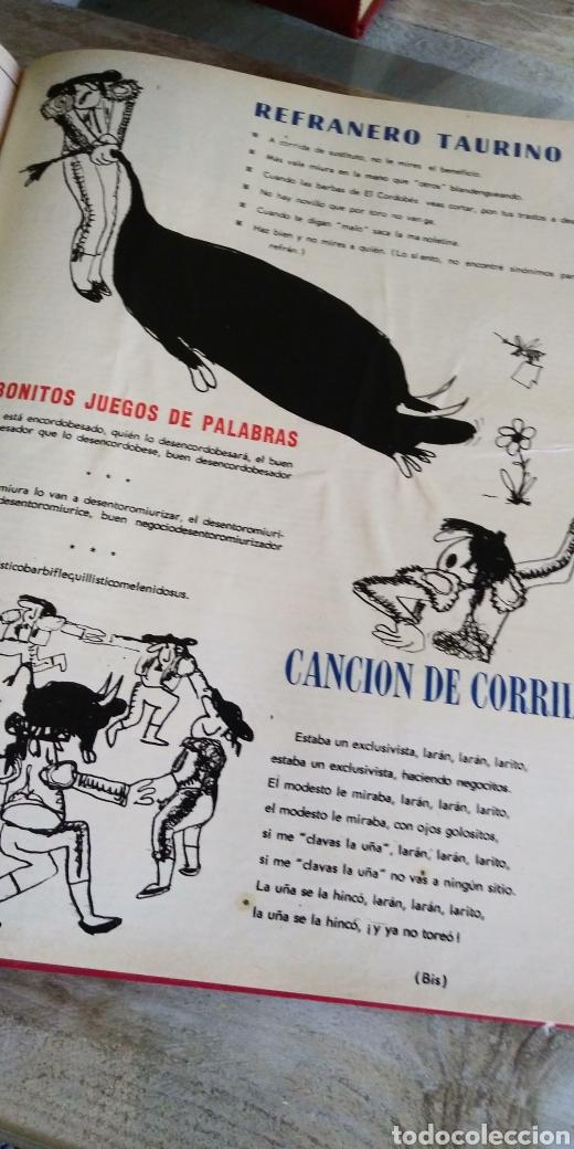 Coleccionismo de Revista Temas Españoles: 3 encuadernaciones del mundo de los toros ,mas de 100 numeros revista el ruedo , del 1963 al 1969 - Foto 6 - 203251000