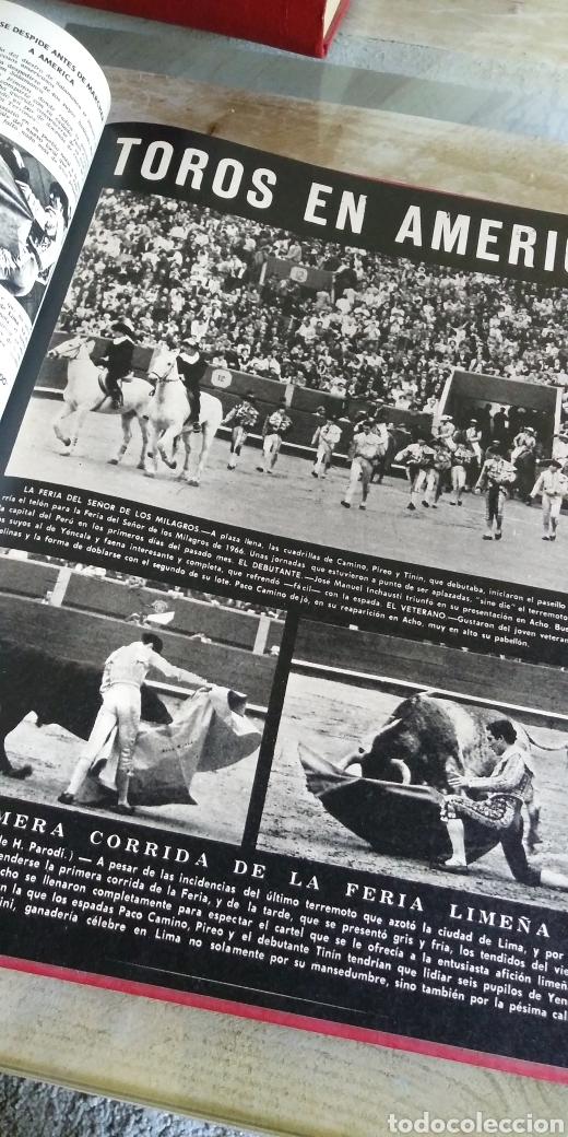 Coleccionismo de Revista Temas Españoles: 3 encuadernaciones del mundo de los toros ,mas de 100 numeros revista el ruedo , del 1963 al 1969 - Foto 7 - 203251000