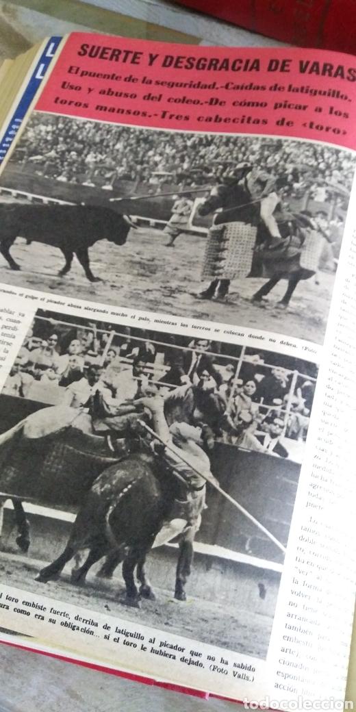 Coleccionismo de Revista Temas Españoles: 3 encuadernaciones del mundo de los toros ,mas de 100 numeros revista el ruedo , del 1963 al 1969 - Foto 9 - 203251000