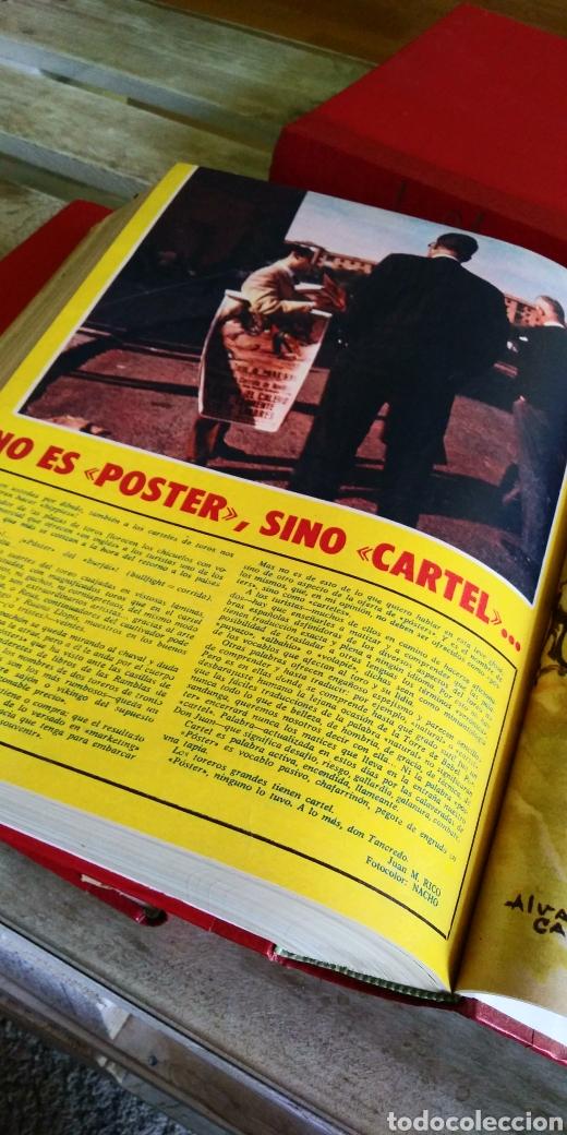 Coleccionismo de Revista Temas Españoles: 3 encuadernaciones del mundo de los toros ,mas de 100 numeros revista el ruedo , del 1963 al 1969 - Foto 10 - 203251000
