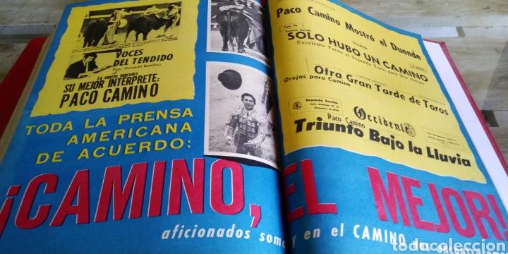 Coleccionismo de Revista Temas Españoles: 3 encuadernaciones del mundo de los toros ,mas de 100 numeros revista el ruedo , del 1963 al 1969 - Foto 11 - 203251000