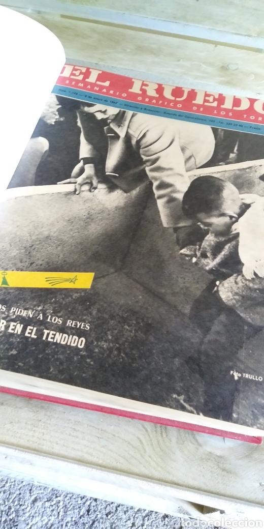 Coleccionismo de Revista Temas Españoles: 3 encuadernaciones del mundo de los toros ,mas de 100 numeros revista el ruedo , del 1963 al 1969 - Foto 12 - 203251000
