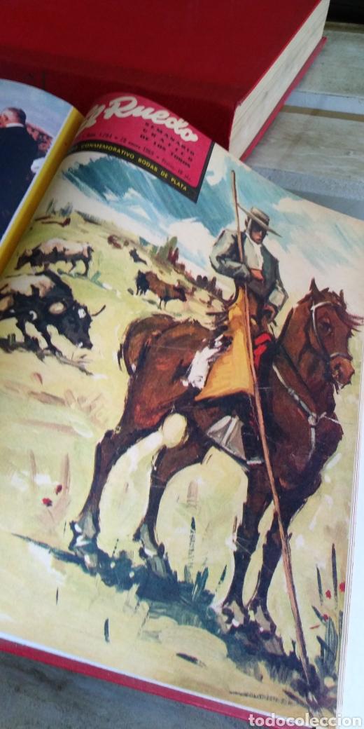 Coleccionismo de Revista Temas Españoles: 3 encuadernaciones del mundo de los toros ,mas de 100 numeros revista el ruedo , del 1963 al 1969 - Foto 13 - 203251000