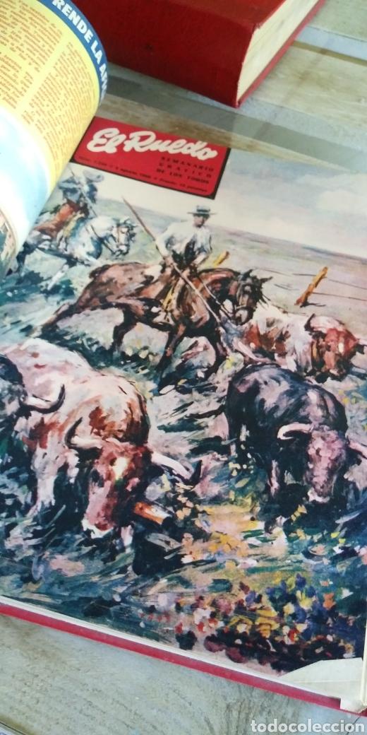 Coleccionismo de Revista Temas Españoles: 3 encuadernaciones del mundo de los toros ,mas de 100 numeros revista el ruedo , del 1963 al 1969 - Foto 15 - 203251000