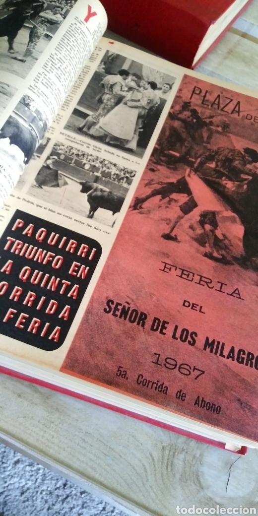 Coleccionismo de Revista Temas Españoles: 3 encuadernaciones del mundo de los toros ,mas de 100 numeros revista el ruedo , del 1963 al 1969 - Foto 20 - 203251000