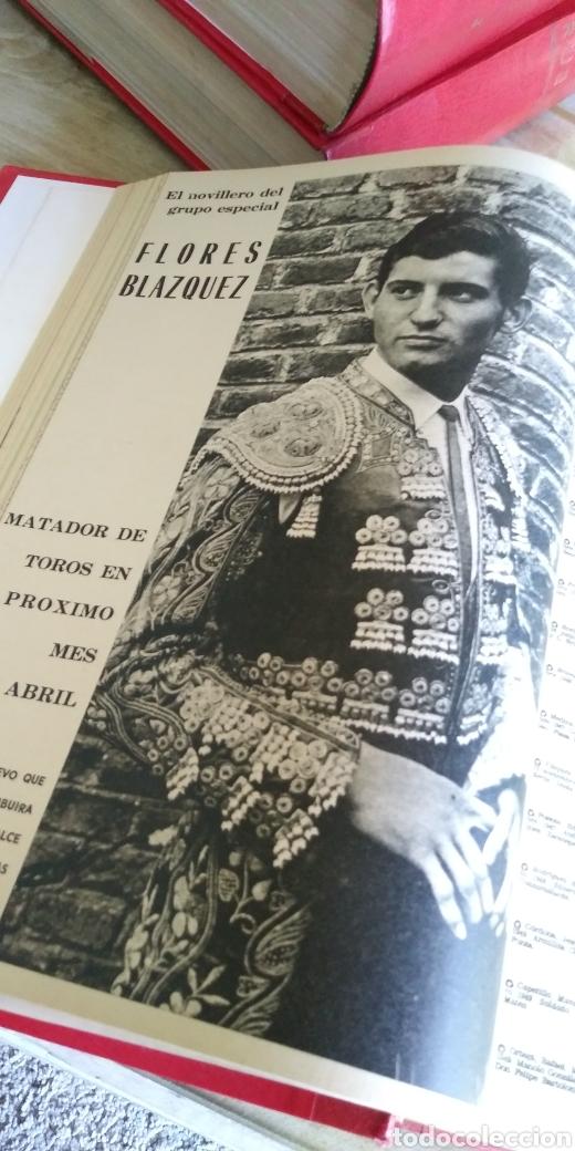 Coleccionismo de Revista Temas Españoles: 3 encuadernaciones del mundo de los toros ,mas de 100 numeros revista el ruedo , del 1963 al 1969 - Foto 22 - 203251000