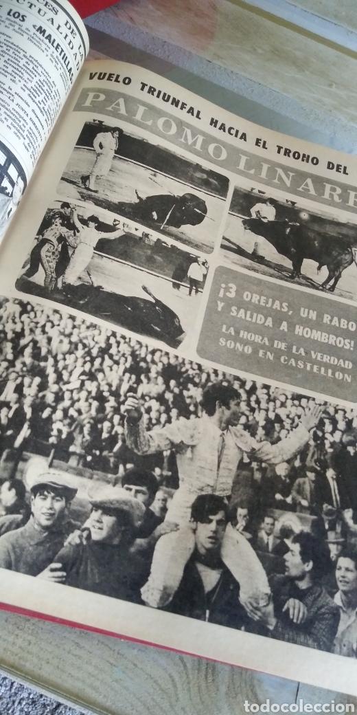 Coleccionismo de Revista Temas Españoles: 3 encuadernaciones del mundo de los toros ,mas de 100 numeros revista el ruedo , del 1963 al 1969 - Foto 23 - 203251000