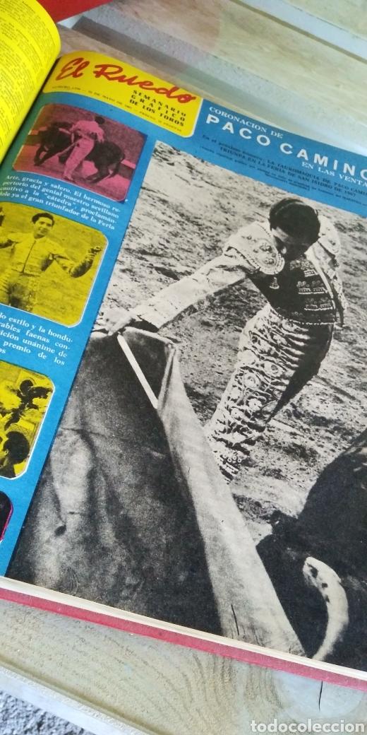 Coleccionismo de Revista Temas Españoles: 3 encuadernaciones del mundo de los toros ,mas de 100 numeros revista el ruedo , del 1963 al 1969 - Foto 25 - 203251000