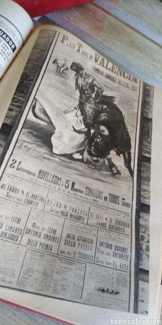 Coleccionismo de Revista Temas Españoles: 3 encuadernaciones del mundo de los toros ,mas de 100 numeros revista el ruedo , del 1963 al 1969 - Foto 26 - 203251000