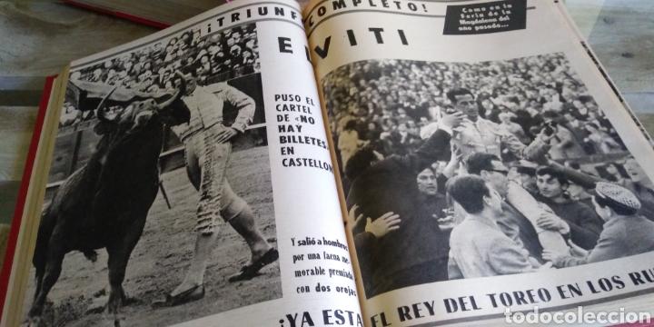 Coleccionismo de Revista Temas Españoles: 3 encuadernaciones del mundo de los toros ,mas de 100 numeros revista el ruedo , del 1963 al 1969 - Foto 27 - 203251000