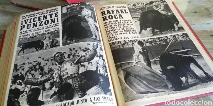 Coleccionismo de Revista Temas Españoles: 3 encuadernaciones del mundo de los toros ,mas de 100 numeros revista el ruedo , del 1963 al 1969 - Foto 28 - 203251000