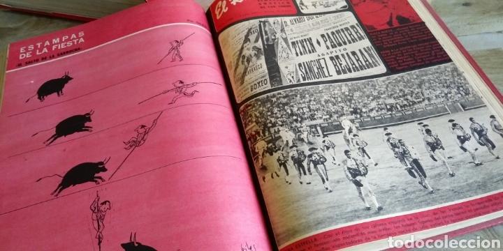 Coleccionismo de Revista Temas Españoles: 3 encuadernaciones del mundo de los toros ,mas de 100 numeros revista el ruedo , del 1963 al 1969 - Foto 29 - 203251000