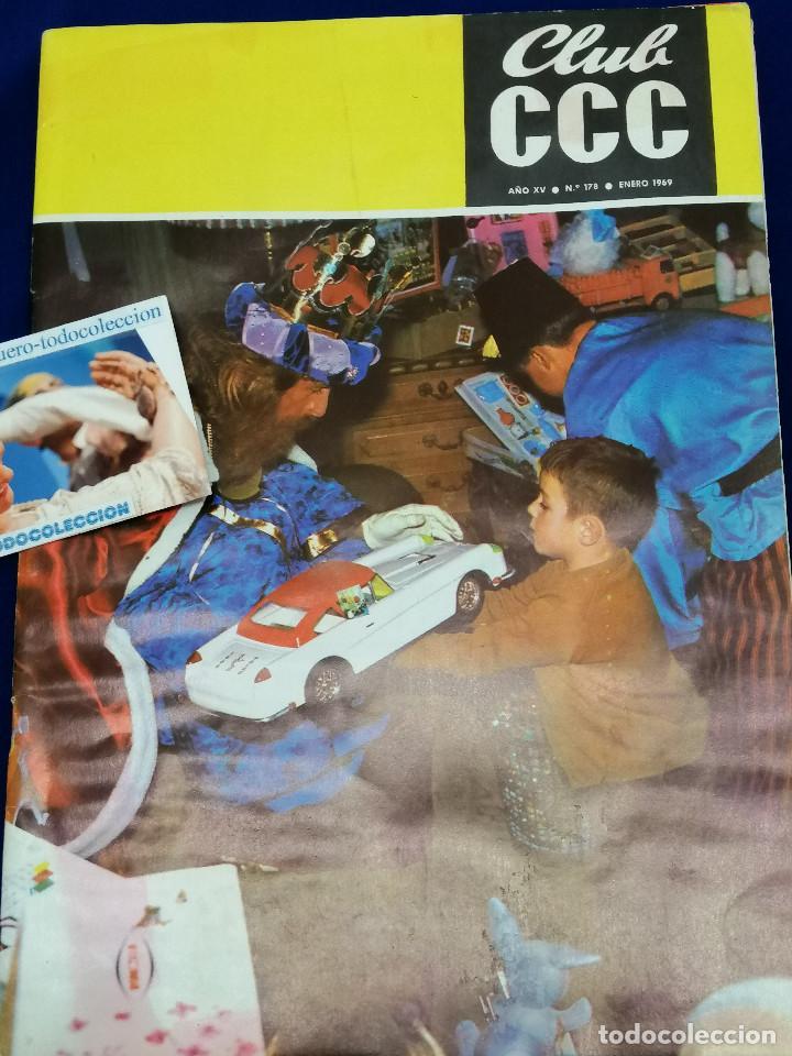 Coleccionismo de Revista Temas Españoles: REVISTA CLUB CC -1969- NUMERO 178-AÑO XV - Foto 2 - 204222236