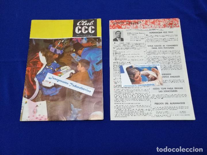Coleccionismo de Revista Temas Españoles: REVISTA CLUB CC -1969- NUMERO 178-AÑO XV - Foto 3 - 204222236