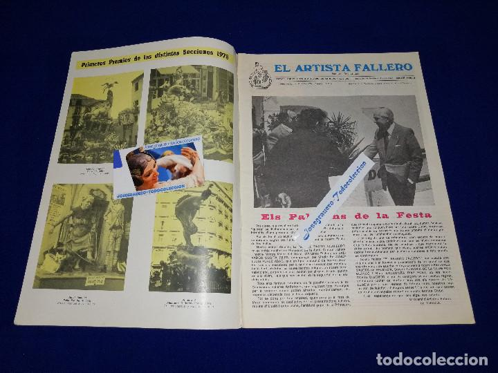 Coleccionismo de Revista Temas Españoles: EL ARTISTA FALLERO 1979 - Foto 4 - 204366761