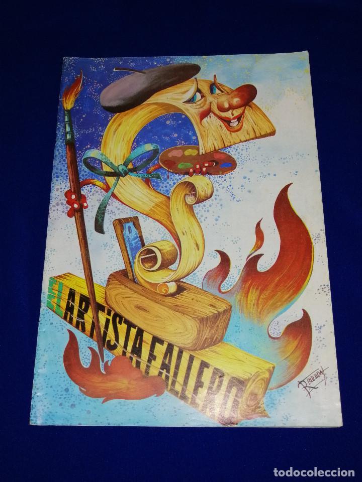 EL ARTISTA FALLERO 1978 (Papel - Revistas y Periódicos Modernos (a partir de 1.940) - Revista Temas Españoles)