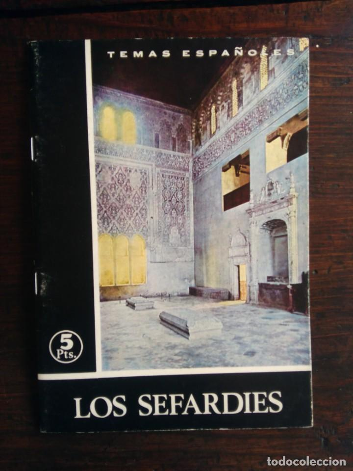 LOS SEFARDÍES - TEMAS ESPAÑOLES - Nº 352 - JESÚS CANTERA ORTIZ DE URBINA - 2ª EDICIÓN, 1965 (Papel - Revistas y Periódicos Modernos (a partir de 1.940) - Revista Temas Españoles)